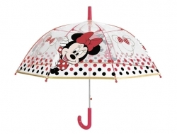 Kid's transparent automatic umbrella 50119 Minnie