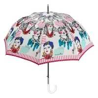 Ladies automatic umbrella Maison Perletti 16208