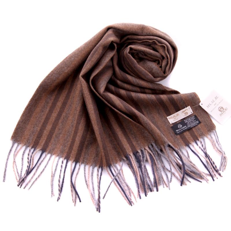 e0353a06f097c SHALOVETE LTD: Men's wool scarf Ma.Al.Bi. MAB136/2