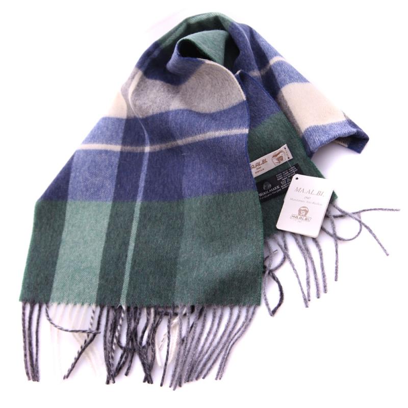 3a819884f938e SHALOVETE LTD: Men's wool scarf Ma.Al.Bi. MAB135/74