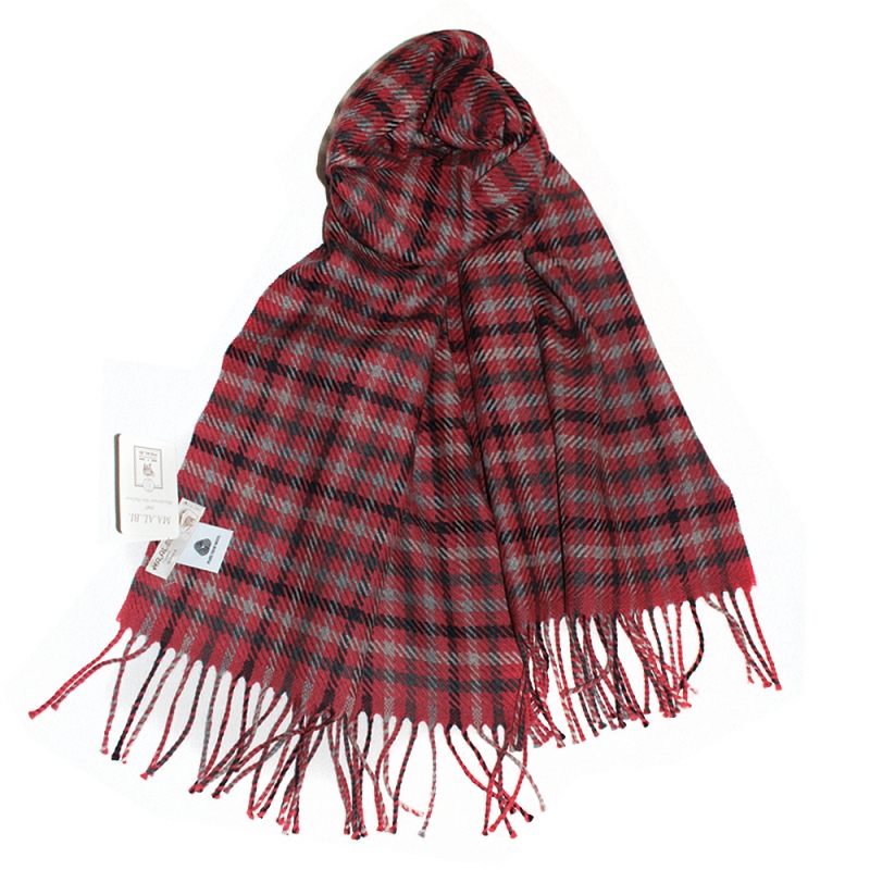 071286d7c0cce SHALOVETE LTD: Men's wool scarf Ma.Al.Bi. MAB105/90