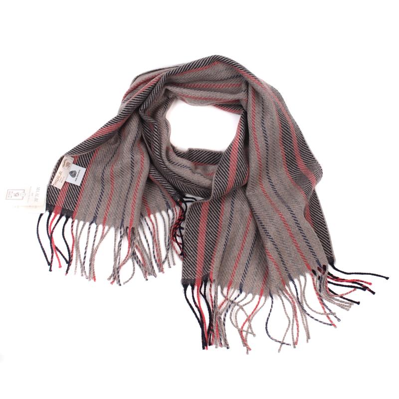 699f53f286a01 SHALOVETE LTD: Men's wool scarf Ma.Al.Bi. MAB105/89