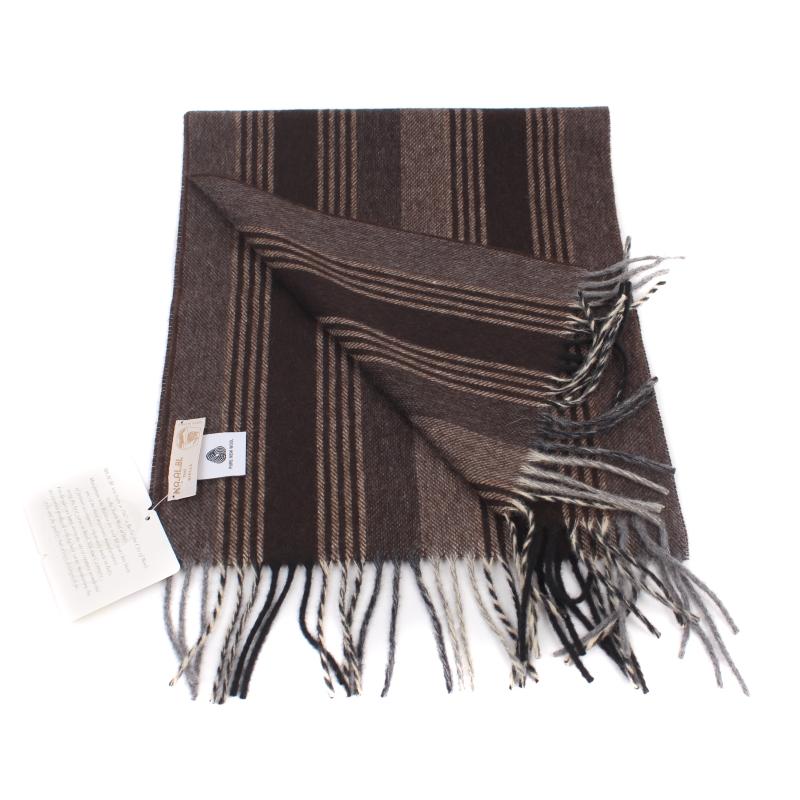 0d01257177199 SHALOVETE LTD: Men's wool scarf Ma.Al.Bi. MAB135/88