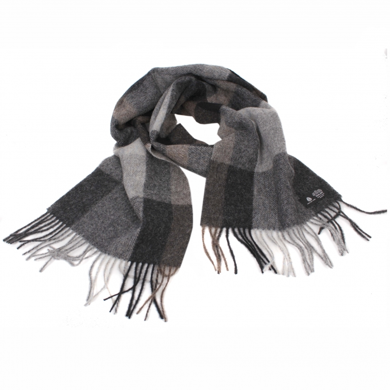 eb0f9e8269674 SHALOVETE LTD: Men's wool scarf Ma.Al.Bi. MAB532 Shetland 62