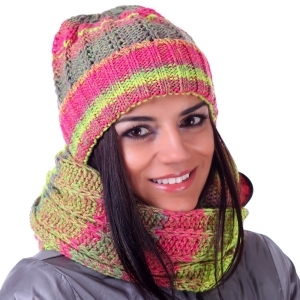 Ladies knited hat JailJam JG0066