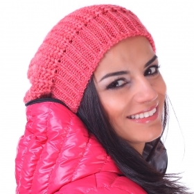 Ladies knitted hat Pulcra Groenlandia