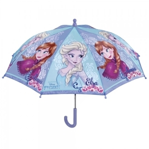 Kid's transparent manual umbrella 50210 Frozen
