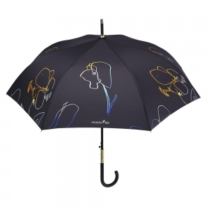 Ladies automatic golf umbrella Maison Perletti 16240