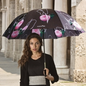 Ladies' automatic golf umbrella Maison Perletti 16230