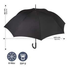 Men's automatic umbrella Perletti Technology 21669