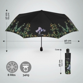 Ladies automatic Open-Close umbrella Maison Perletti 16205