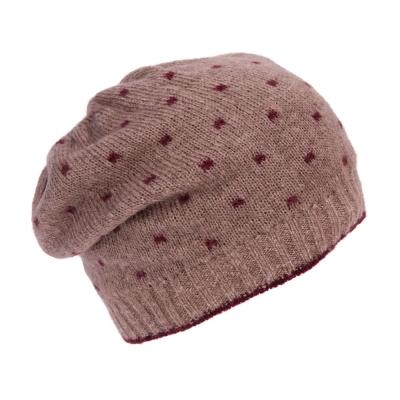 топла шапка с мохер