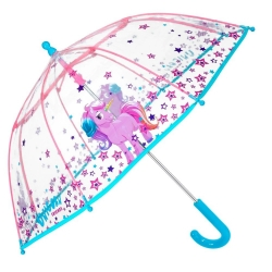Кids' transparent umbrella Perletti CoolKids 15548