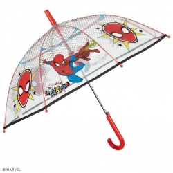 Kid's transparent umbrella Perletti Kids Spiderman 75378