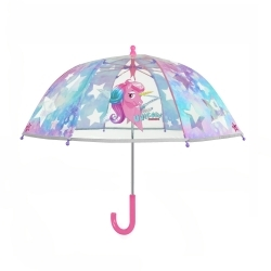 Кids' transparent umbrella Perletti CoolKids 15581