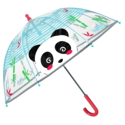 Кids' transparent umbrella Perletti CoolKids 15566