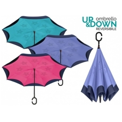 Ladies' manual umbrella Perletti Time 26018