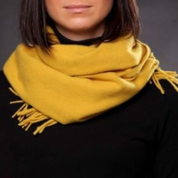 Wool scarf Pulcra Livigno 30x150