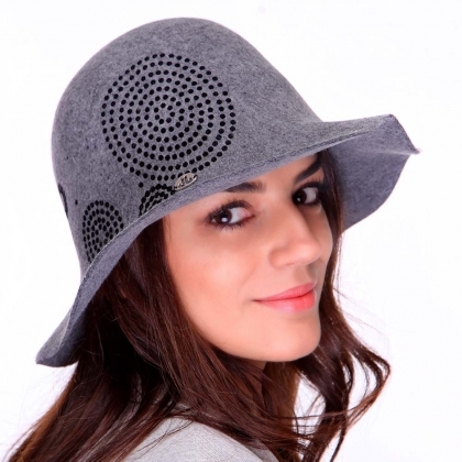 Ladies' felt hat JailJam JG0048