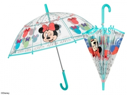 Kid's transparent umbrella Perletti Kids Minnie Mouse 50129