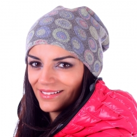 Ladies knitted hat Pulcra Stampa