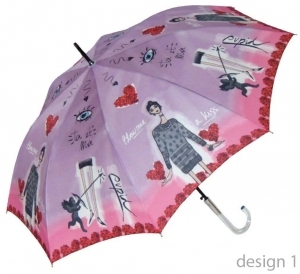 Ladies automatic umbrella Perletti 21194 Chic