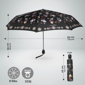 Ladies automatic Open-Close umbrella Maison Perletti 16221
