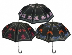 Ladies automatic golf umbrella Maison Perletti 16210