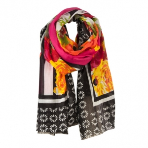 Ladies cotton scarf HatYou SE0568