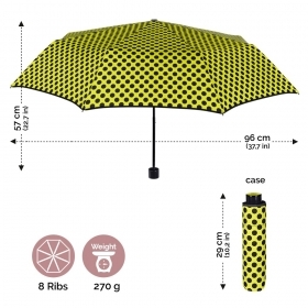 Ladie's manual umbrella Perletti 21229 Chic