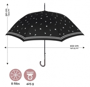 Ladie's automatic golf umbrella Perletti Chic 21231