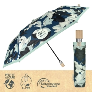 Ladies' automatic umbrella Perletti Green 19101
