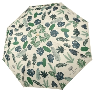Ladies' manual umbrella Perletti Green 19103