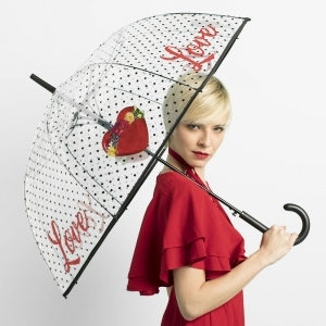 Ladies' automatic golf umbrella Perletti 26071