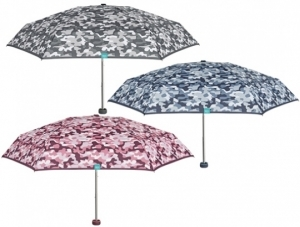Ladie's manuale mini umbrella Perletti Time 26193