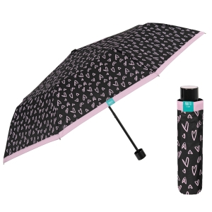 Ladies' manual umbrella Perletti Time 26185