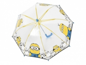 Kids' transparent umbrella 75048 Minions